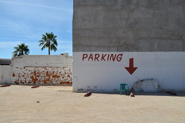 mexican parking lot
